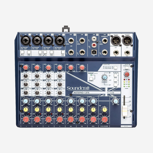 SoundCraft,NOTEPAD 12FX
