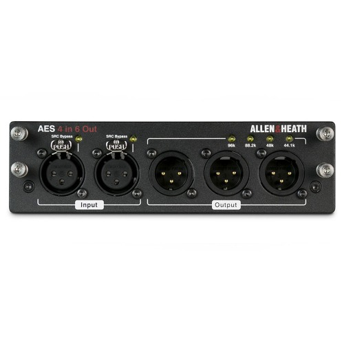 ALLEN&HEATH M-DL-AES10O-A / 2I8O, 4I6O, 6I4O / AES SERIES / AES AUDIO INTERFACE CARD / IN OUT 별 선택 제품 / 알렌헤스 정품