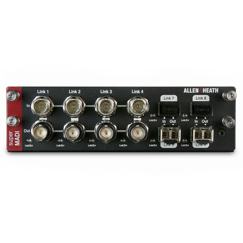 ALLEN&HEATH M-DL-SMADI-A / SUPER MADI AUDIO  NETWORKING CARD / 128 in 128 out / 알렌헤스 정품