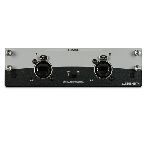 ALLEN&HEATH M-DL-GACE-A / GIGAACE NETWORKING CARD / 128 in 28 out / 알렌헤스 정품