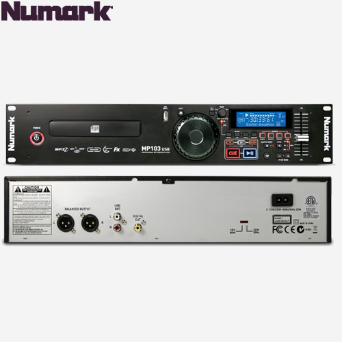 NUMARK MP103USB / 뉴마크 CD USB 플레이어 / MP-103