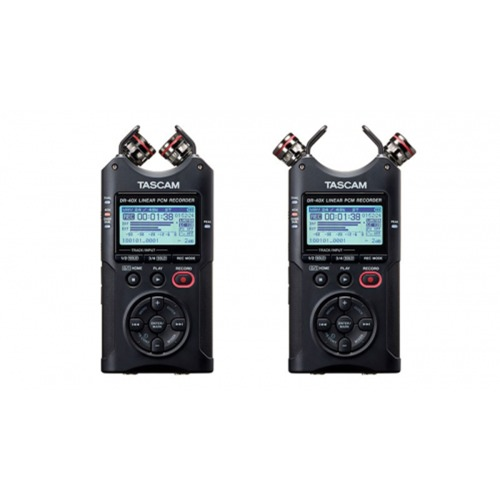 TASCAM DR-40X / Four Track Digital Audio Recorder and USB Audio Interface / 녹음기 / 인터페이스 기능 탑재 / 타스컴 / 정품