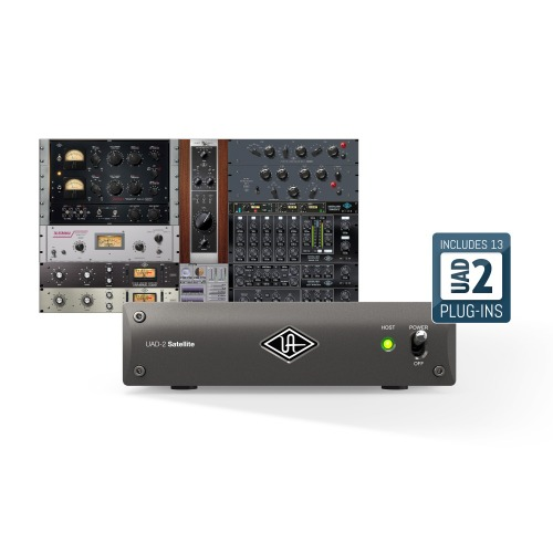 UNIVERSAL AUDIO UAD-2 SATELLITE TB3 QUAD CORE / 유니버셜오디오 DSP 장비  / 정품