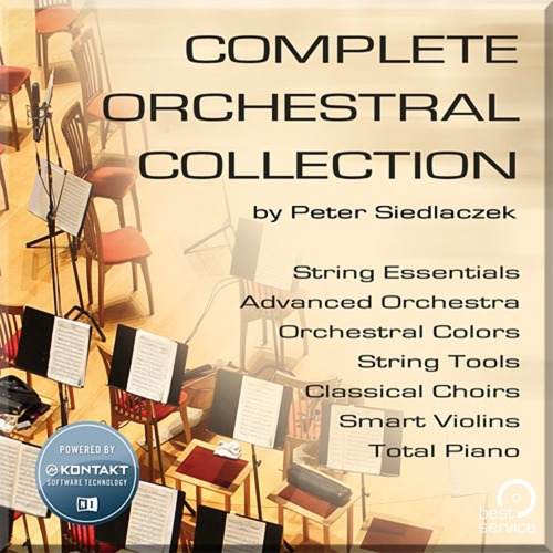 Best Service Complete Orchestral Collection /오케스트라 컬렉션 / 정품 / 가상악기