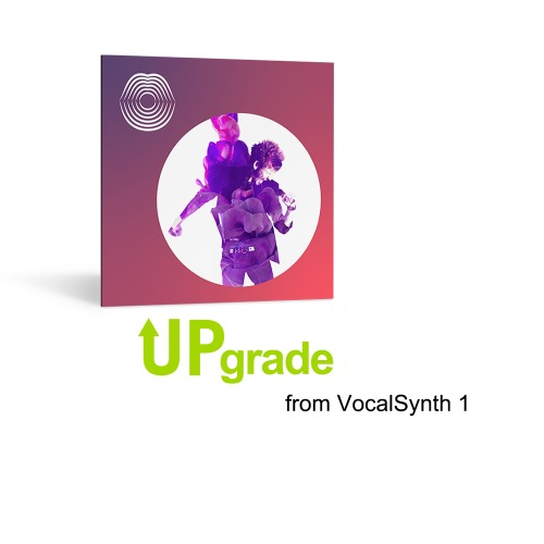 iZotope VocalSynth 2 Upgrade from VocalSynth 1 / Vocal Synth 1에서 Vocal Synth 2로 업그레이드하는 용도 / 정품