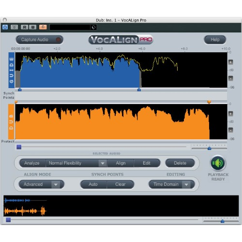 Synchro Arts VocALign PRO 4 - Upgrade from VocALign Project / ADVANCED AUTOMATIC AUDIO ALIGNMENT / 정품