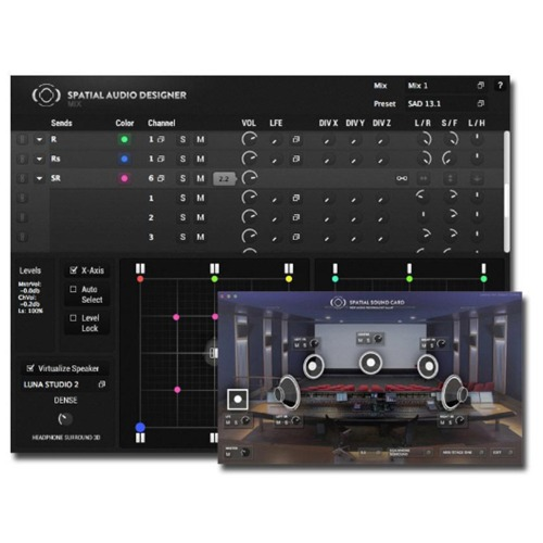 New Audio Technology SAD Producer Filmstage & 4x SSC Bundle / NAT / 서라운드 프로그램 / 정품