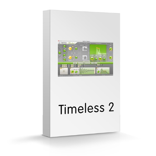 FabFilter Timeless 2 / Creative effect and synthesizer plug-ins / 팝필터 / 정품