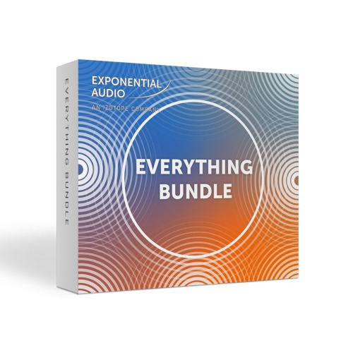 Exponential Audio Everything Bundle / 모든 Exponential Audio 플러그인 제공 / 정품