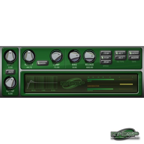 McDSP Analog Channel Native (EDU) / AC101, AC202가 포함된 플러그인 - Native 용 / 정품