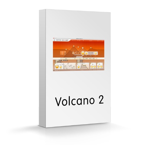 FabFilter Volcano 2 / Creative effect and synthesizer plug-ins / 팝필터 / 정품
