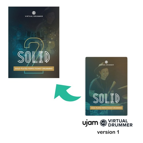 UJAM SOLID V2 Upgrade From Solid V1 / 버전1에서 버전2로 업그레이드하는 제품  / 정품