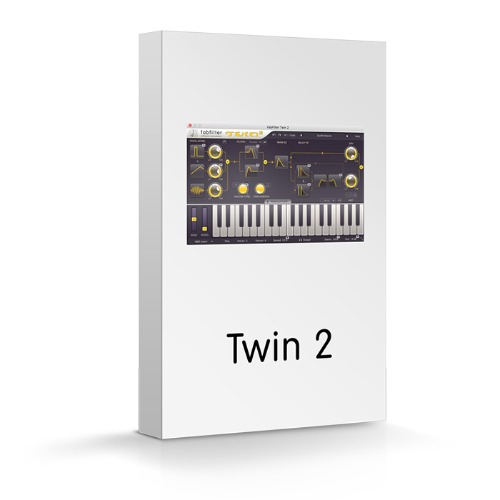 FabFilter Twin 2 / Creative effect and synthesizer plug-ins / 팝필터 / 정품