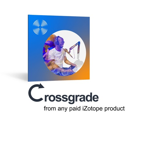 iZotope RX 8 Standard Crossgrade from any paid iZotope product /RX 8 크로스 그레이드 업그레이드 / 정품