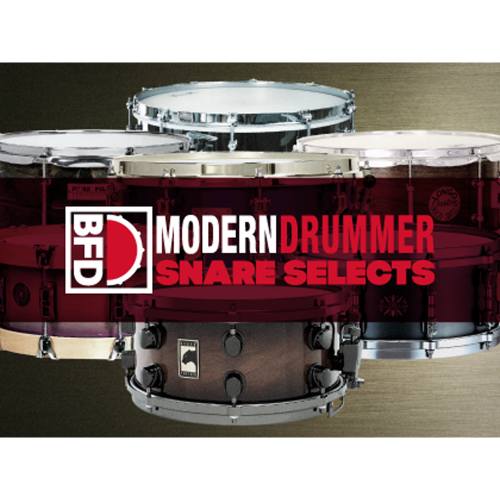 FXpansion Modern Drummer Snare Selects - BFD Expansion / 모던 드러머 매거진이 선정한 12가지 스네어 / 가상악기 / 정품