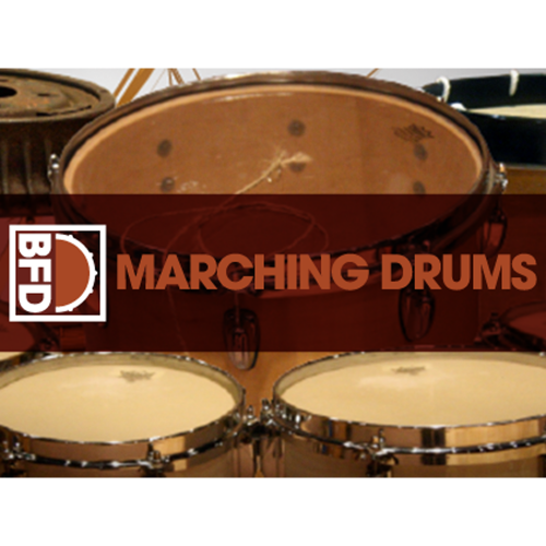 FXpansion Marching Drums - BFD Expansion / 마칭 밴드 드럼/퍼커션 익스팬션 / 가상악기 / 정품
