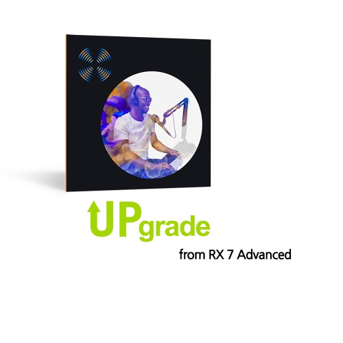 iZotope RX 8 Advanced Upgrade from RX 7 Advanced / 정품