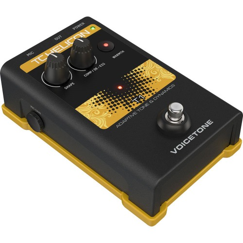 TC Helicon VoiceTone T1 보컬 이펙터 / Stompbox for Vocal Tonal Shaping on Stage / 정품